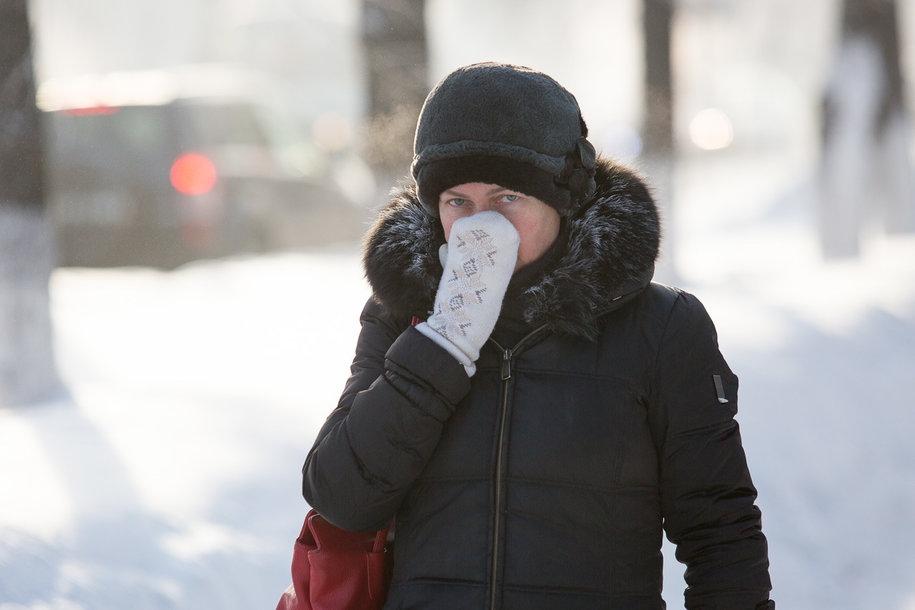 Семь томичей получили обморожения за выходные