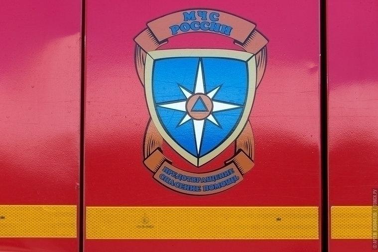 Иномарка загорелась при движении в Томске