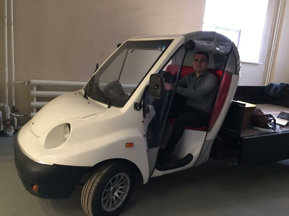 В Томске готовят к испытаниям беспилотный автомобиль