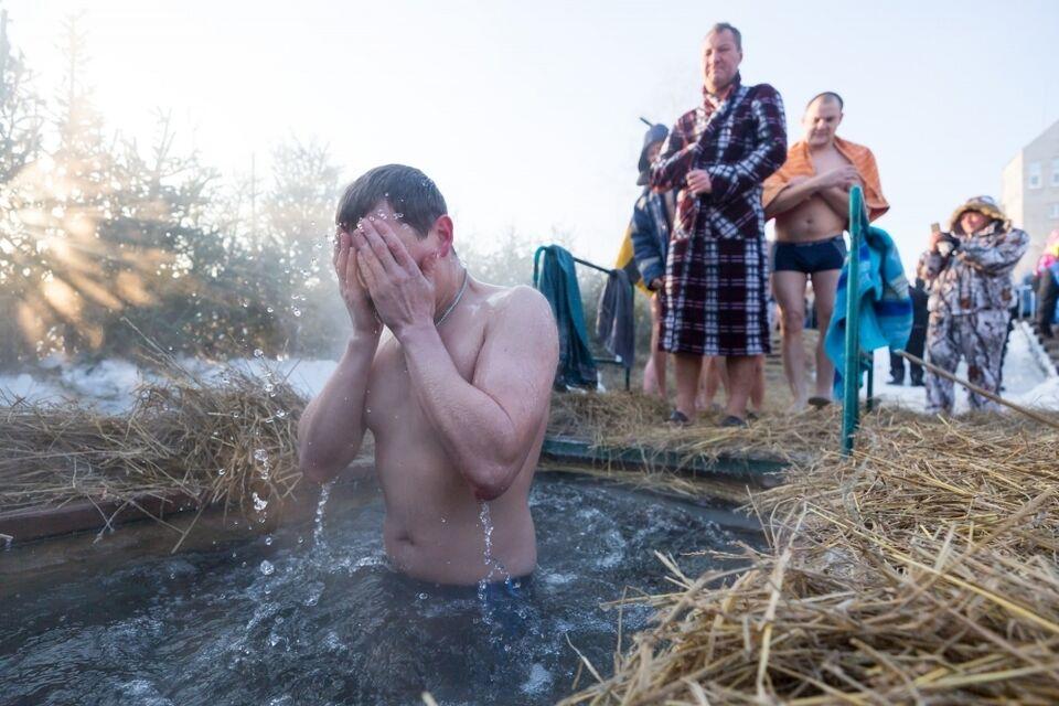 Где томичи смогут искупаться в проруби в Крещение