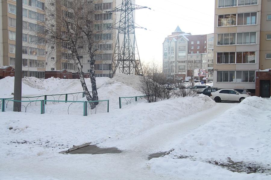 Томск.ру новости снег уборка