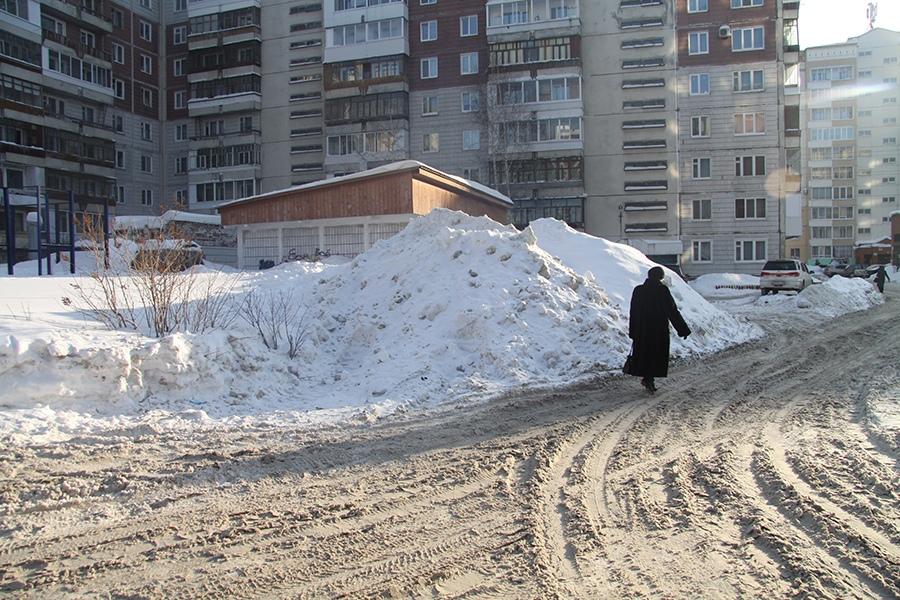 Томск.ру новости снег ОНФ