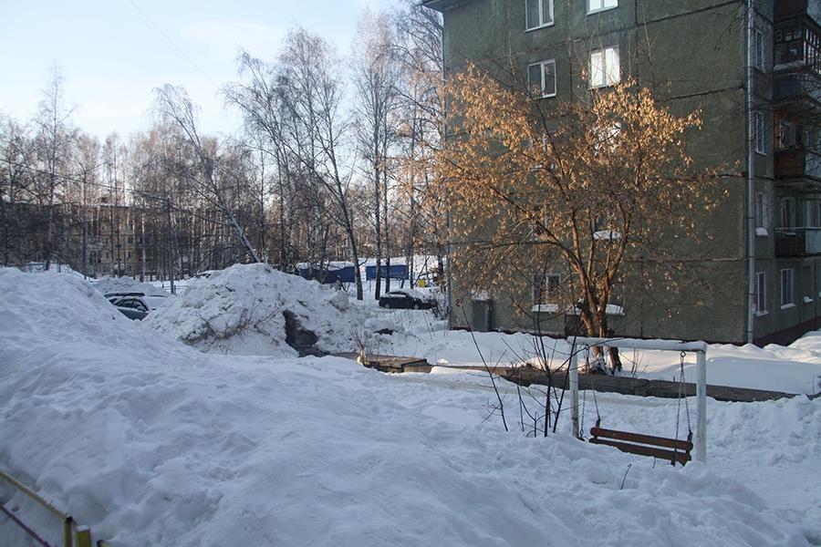 Томск.ру новости снег жалобы Октябрьский район