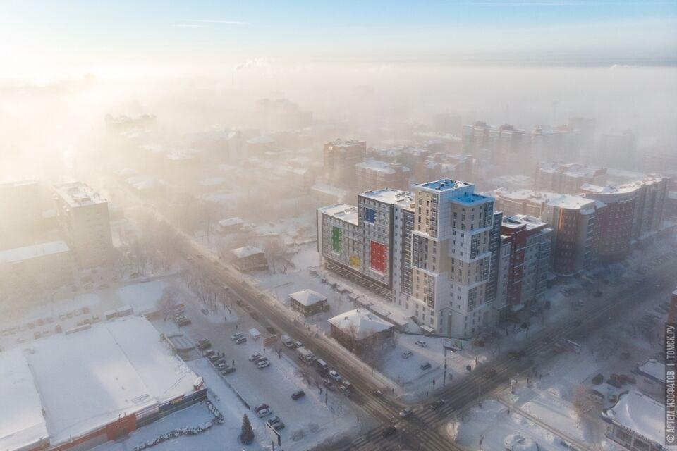 Синоптики: в середине недели в Томске потеплеет до -30