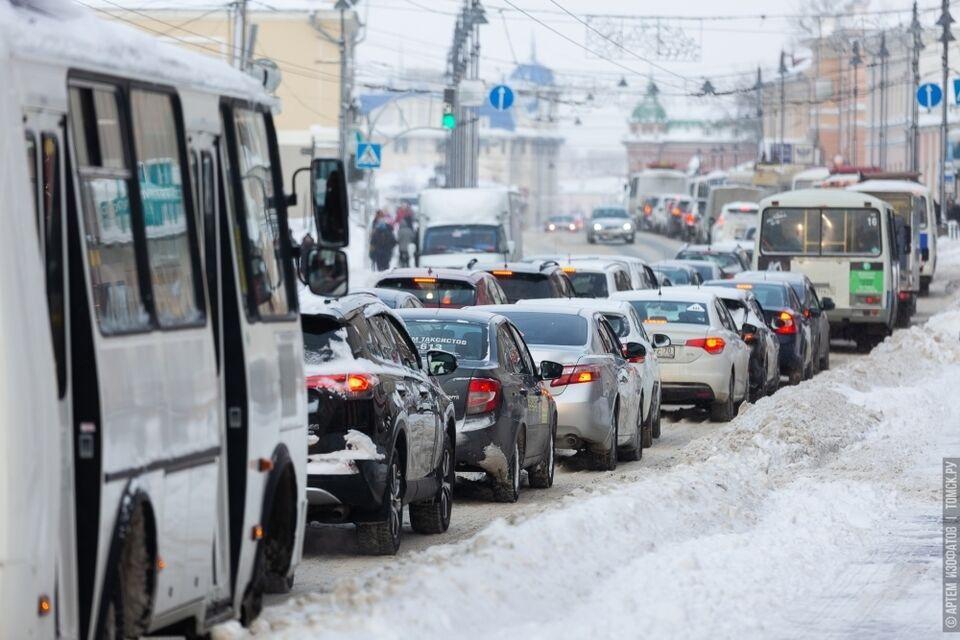 Томских водителей оштрафовали на 364 миллиона рублей