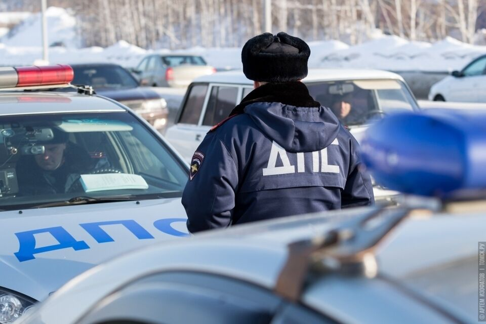 Более 40 томичей получили штрафы за неправильную парковку