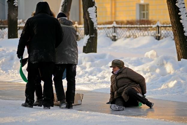 Видеоопрос: томичи рассказали, где в городе скользко