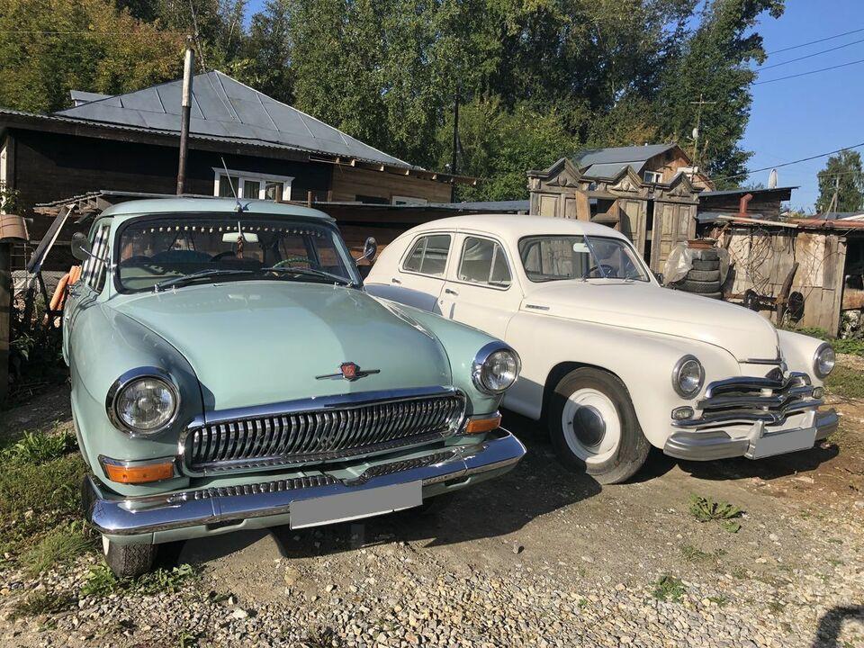 Три раритетных автомобиля выставлены на продажу в Томской области