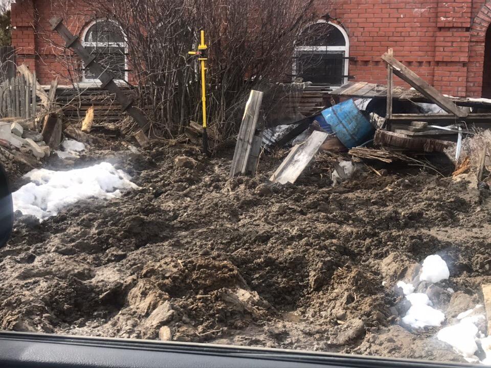Чуда не произошло: Сосновый бор по-прежнему утопает в грязи