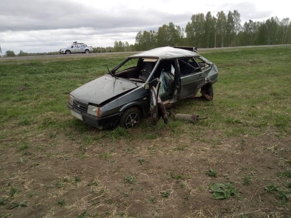 ДТП с пострадавшим произошло на трассе в Томской области
