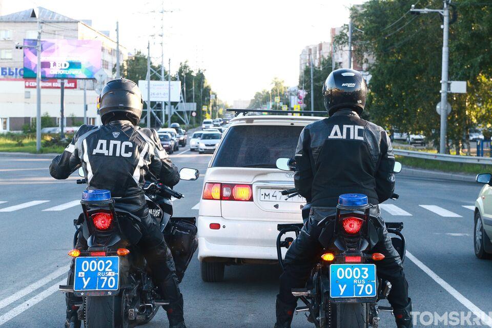 Черные байки и синие номера: как инспекторы ДПС «ловят» нарушителей