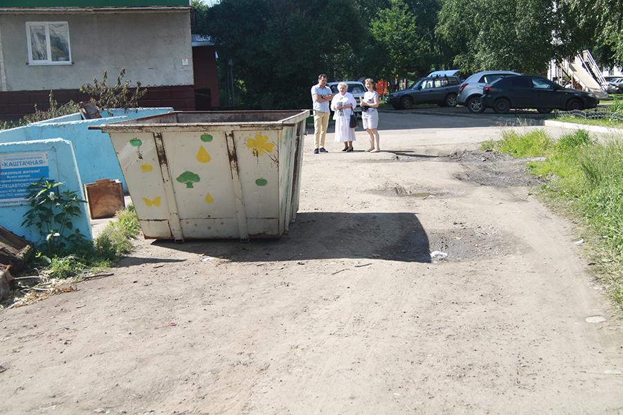 Жители Соснового бора пожаловались на плохие дороги
