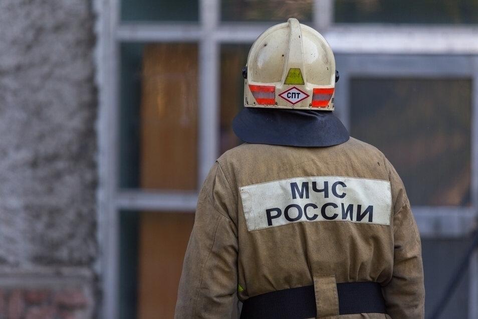 Пожар уничтожил баню в садовом товариществе под Томском