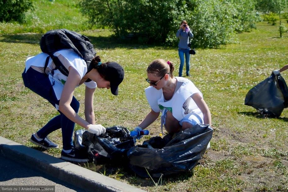 Сбор отходов на скорость. В Томске готовятся к мусорному чемпионату