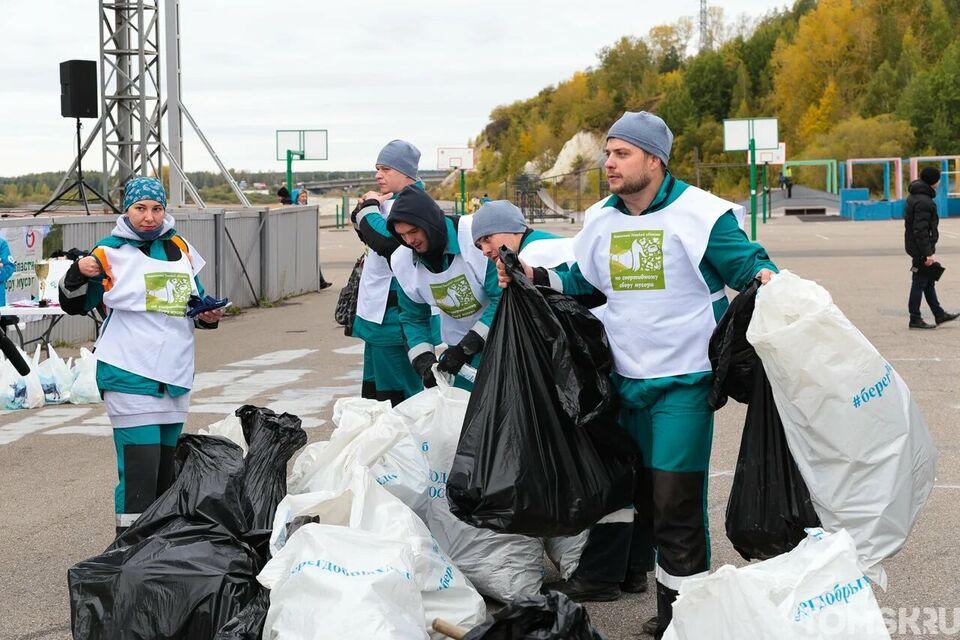 Как особый вид спорта: в Томске прошел чемпионат по сбору мусора
