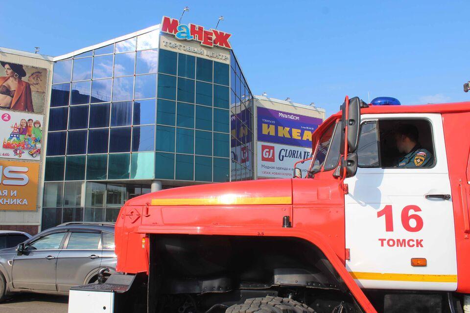 В Томске «потушили» крупный торговый центр