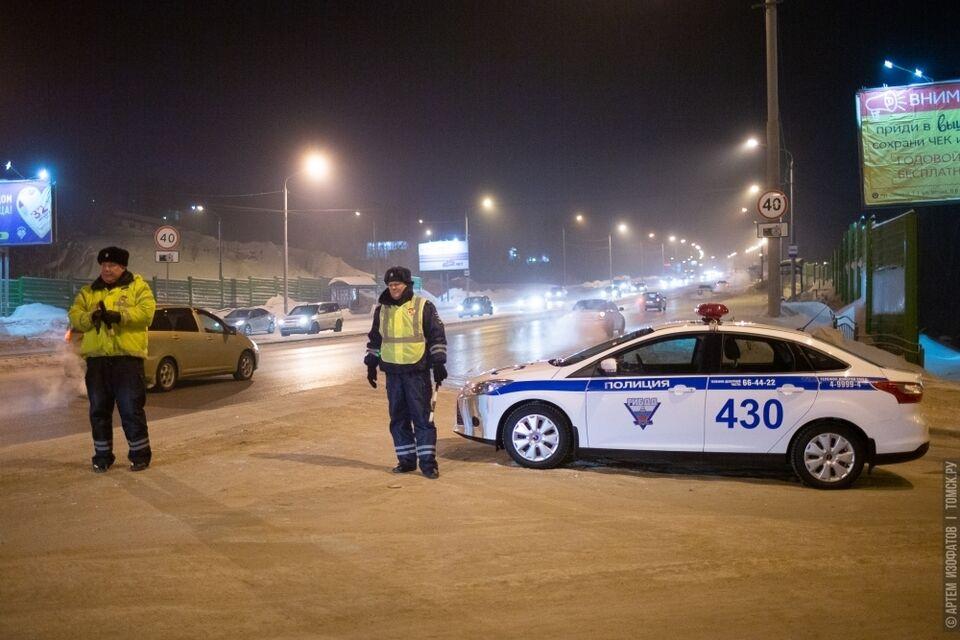 Уже началось: томских водителей проверяют на трезвость