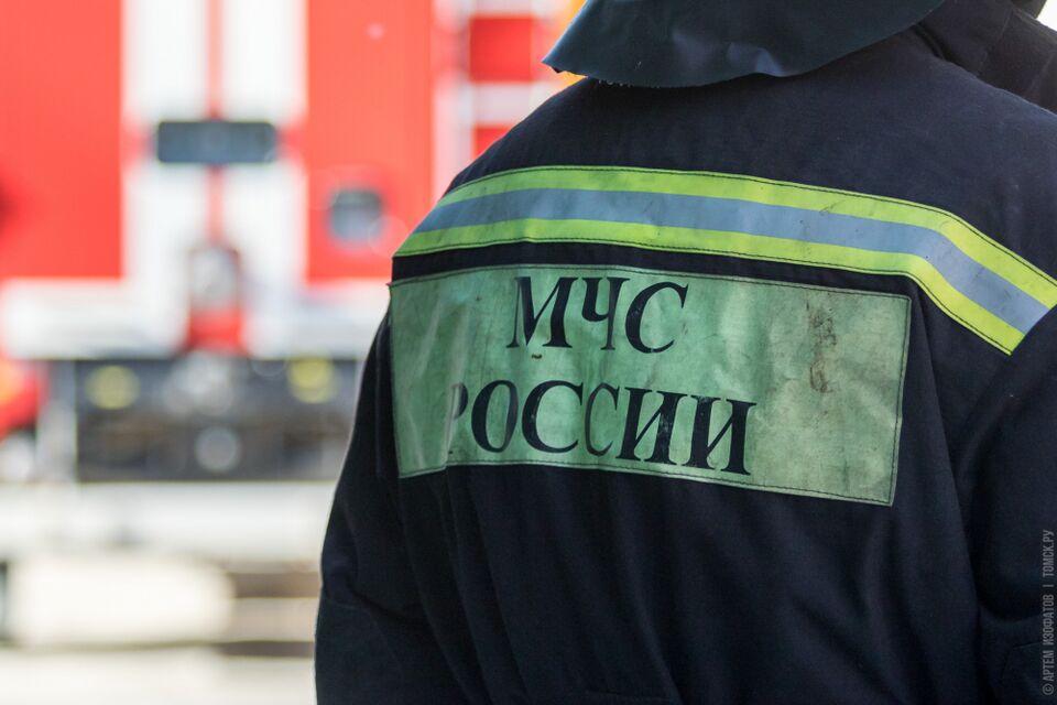 На томском подшипниковом заводе загорелся цех