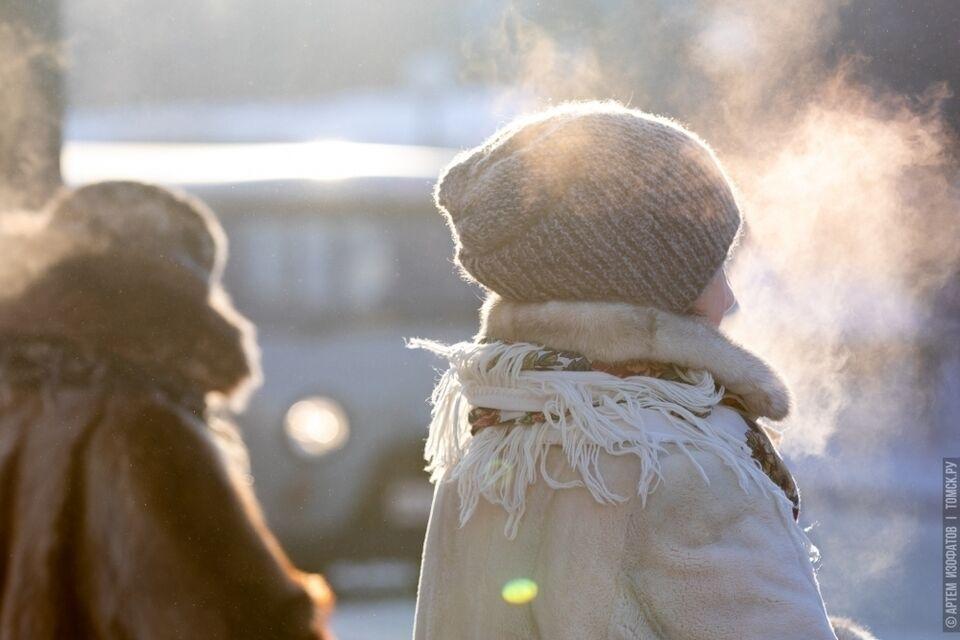 Морозы до -25 градусов придут в регион до конца недели
