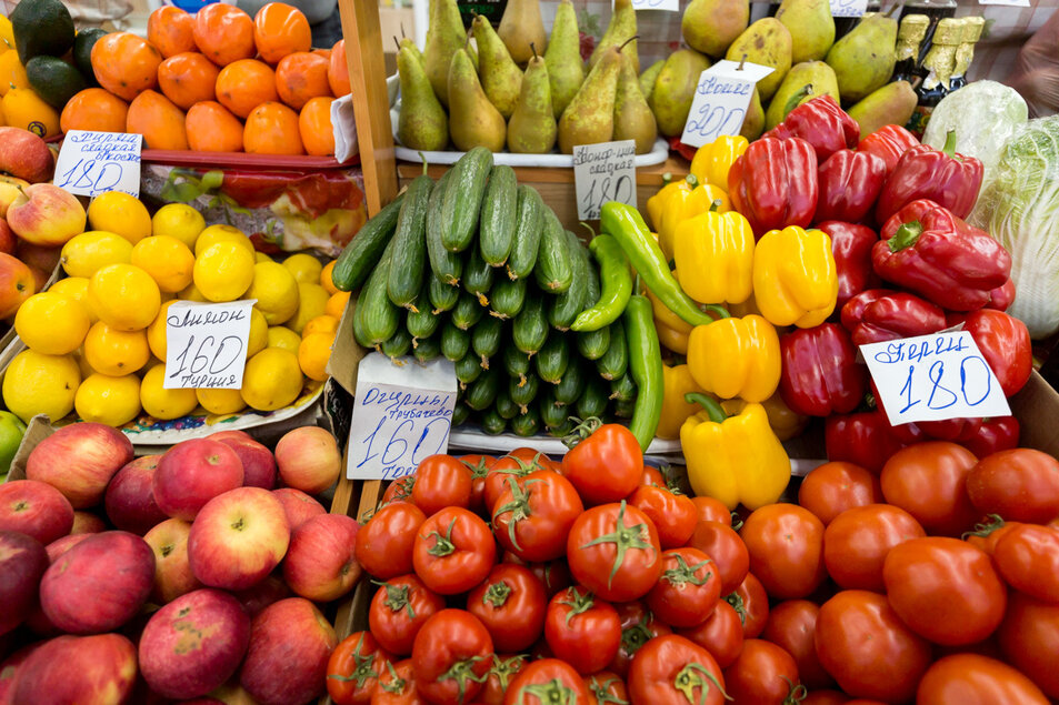 С прилавков томских магазинов изъяли более 500 кг овощей