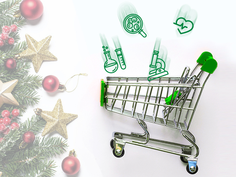 Новогодняя распродажа в Лаборатории «Гемотест»