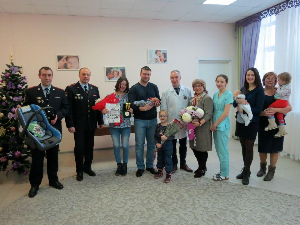 Настоящий боец: в перинатальном центре Томска родился 25 000-й малыш