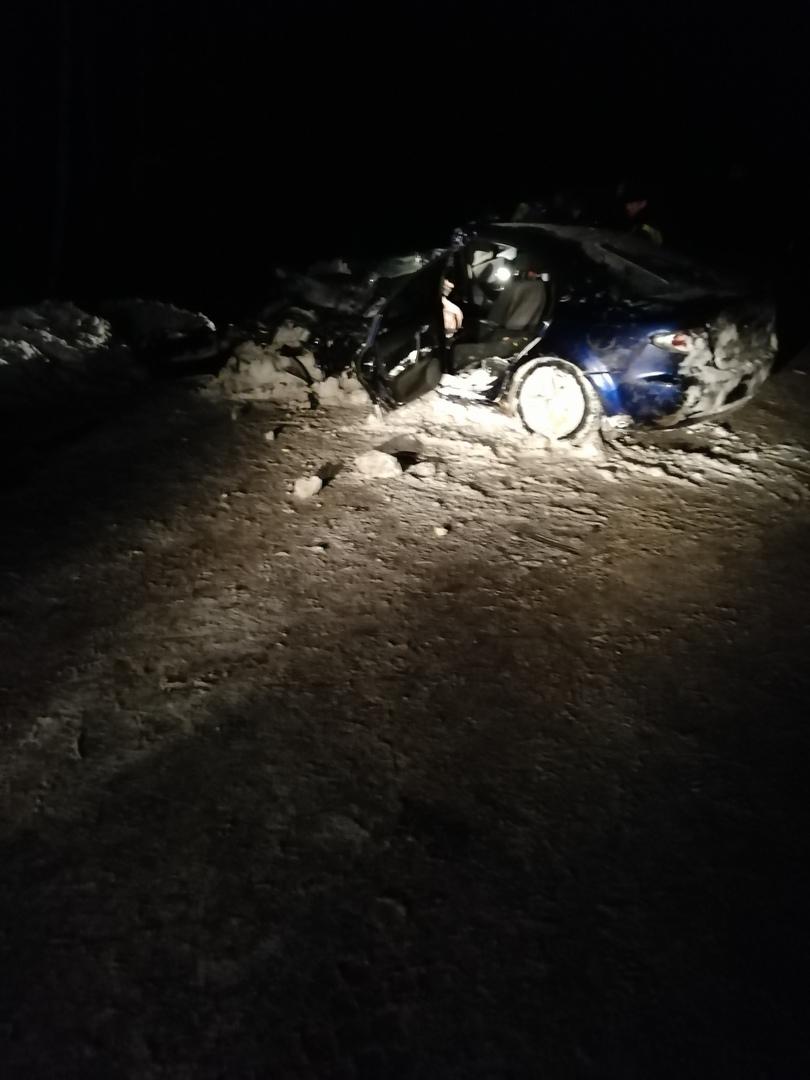 Смертельная авария: иномарка слетела с трассы и врезалась в дерево