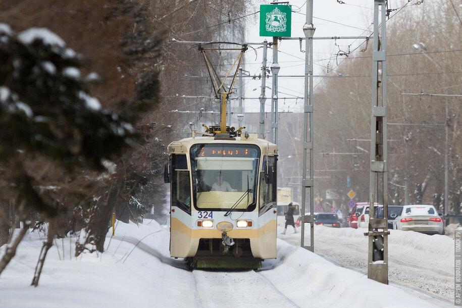 Пять трамваев из Москвы сегодня приехали в Томск