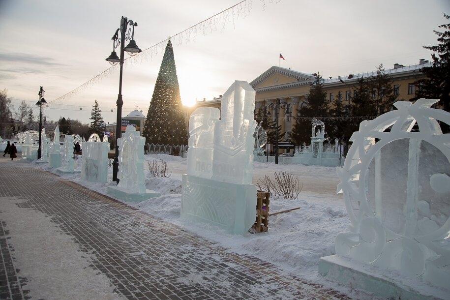 В Томске откроется VI фестиваль ледовой скульптуры «Хрустальный Томск»