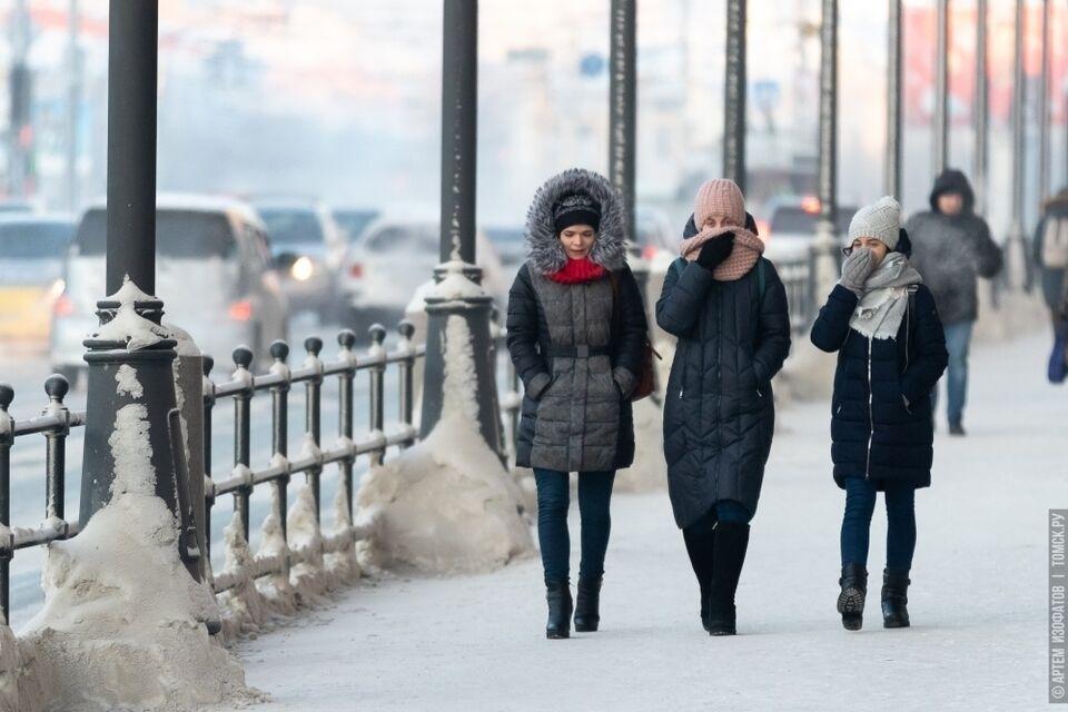 40-градусный мороз ждет томичей в Новый год: фейк или правда?