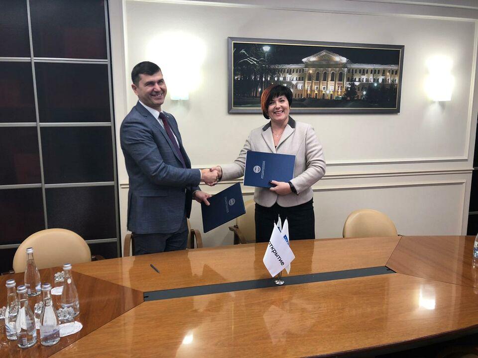 Банк «Открытие» и ТУСУР будут сотрудничать в сфере цифровых технологий
