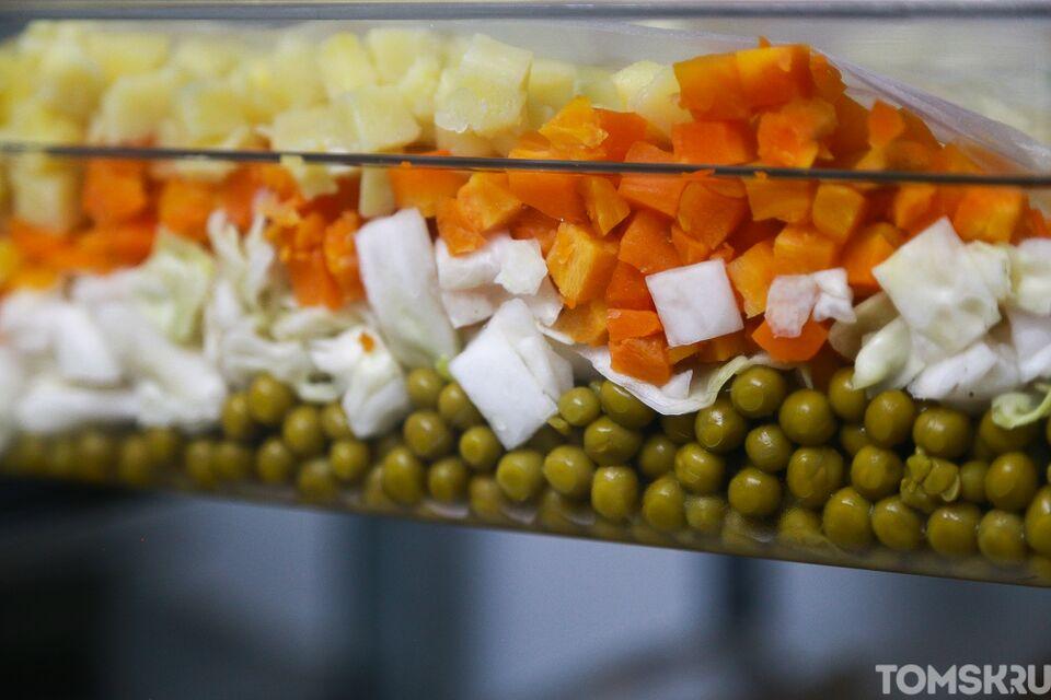 Чем ближе Новый год, тем больше оливье, посчитали в Сбербанке