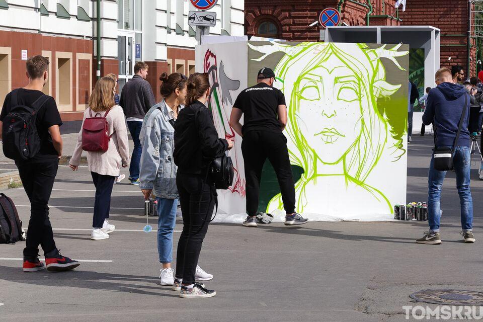 Идет онлайн-голосование среди работ конкурса экологического граффити