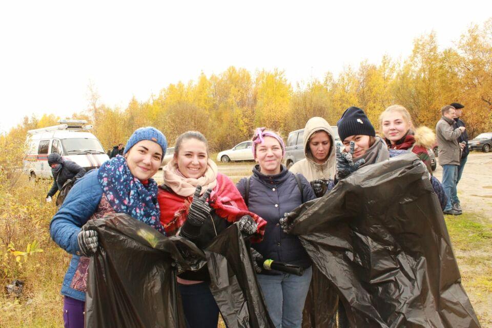 Районы Томской области приняли эстафету чемпионата по сбору мусора