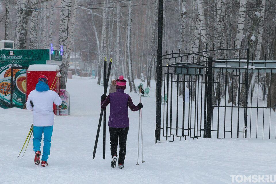 Бросай курить, вставай на лыжи: обзор лыжных баз Томска