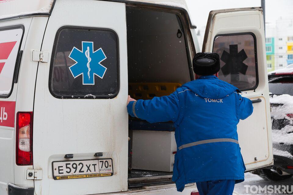 Пенсионерка попала под колеса иномарки в Северске