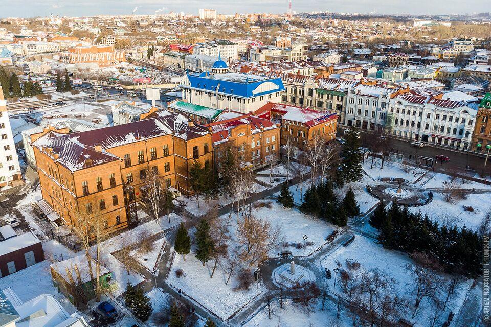 Томск вернет в бюджет 14 млн за невыполнение плана по благоустройству