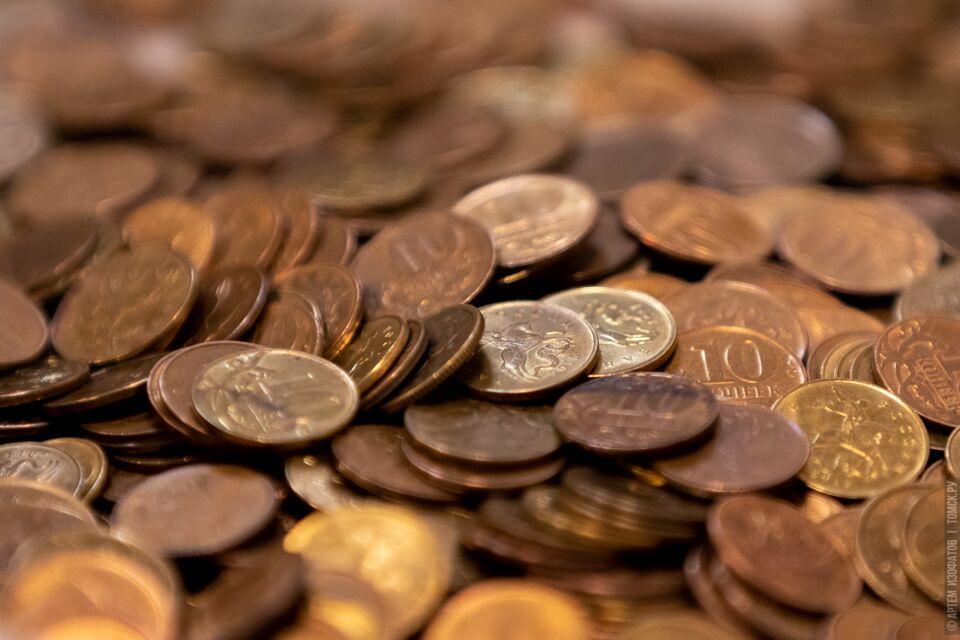 Томичи принесли в банки тонну монет