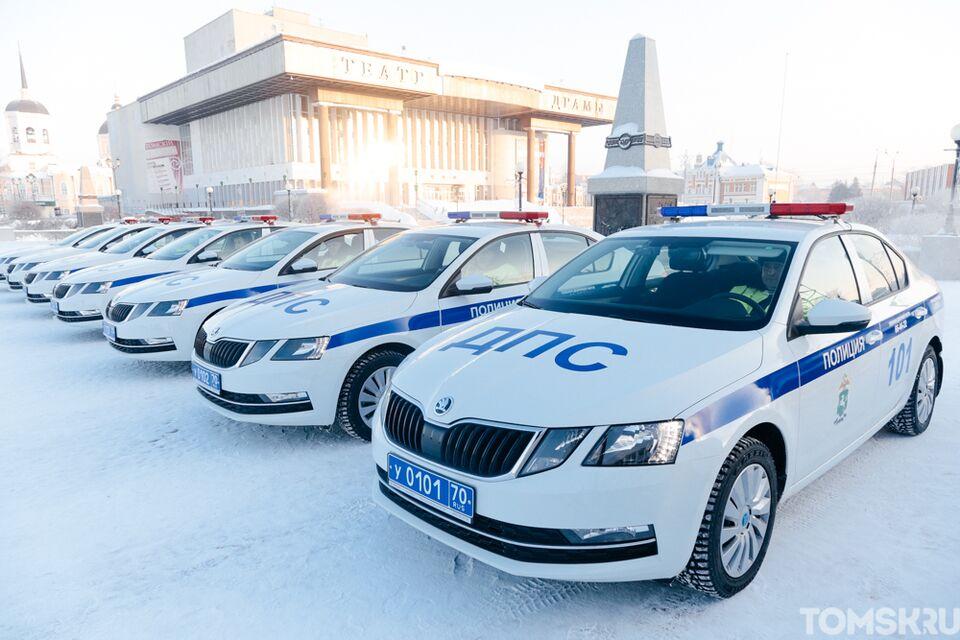 На дорогах станет безопаснее: инспекторы ДПС получили новые автомобили