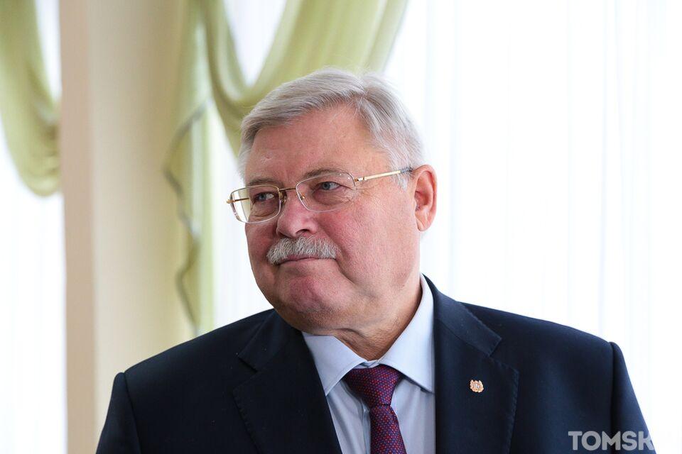 Губернатор Сергей Жвачкин поздравил томичей с Новым годом