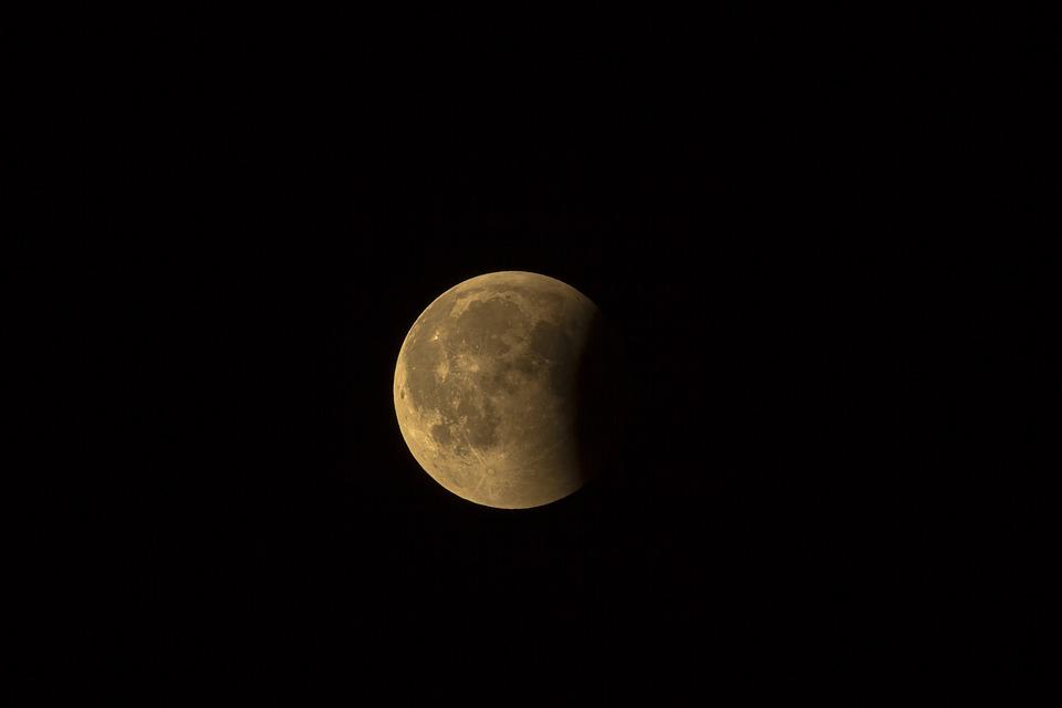 Томичи смогут наблюдать лунное затмение