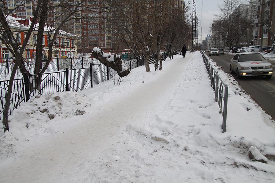 Дорога к десяти томским школам стала безопаснее
