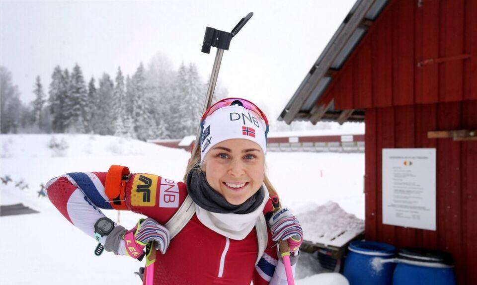 Норвежская биатлонистка рассказала о сибирских корнях