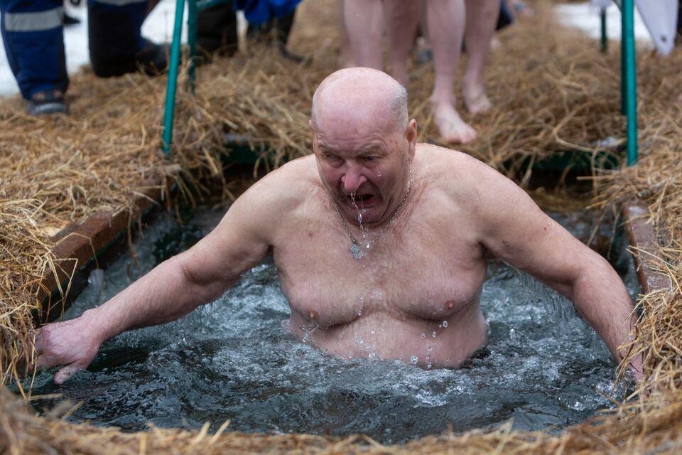 Купаться будет некомфортно: на Крещение подморозит