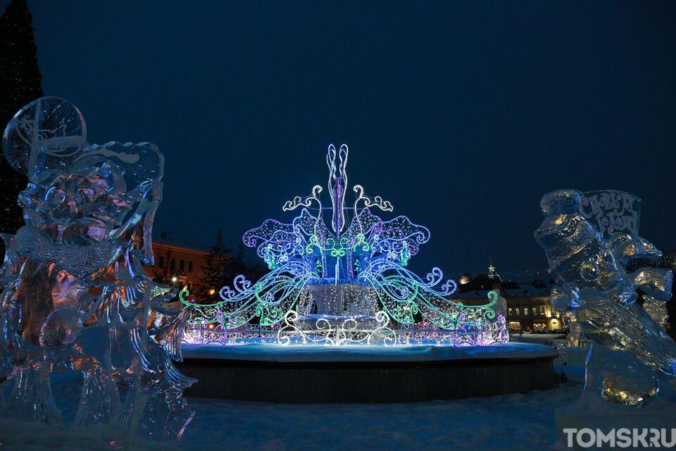 Мэр продлил срок работы новогодней иллюминации в Томске