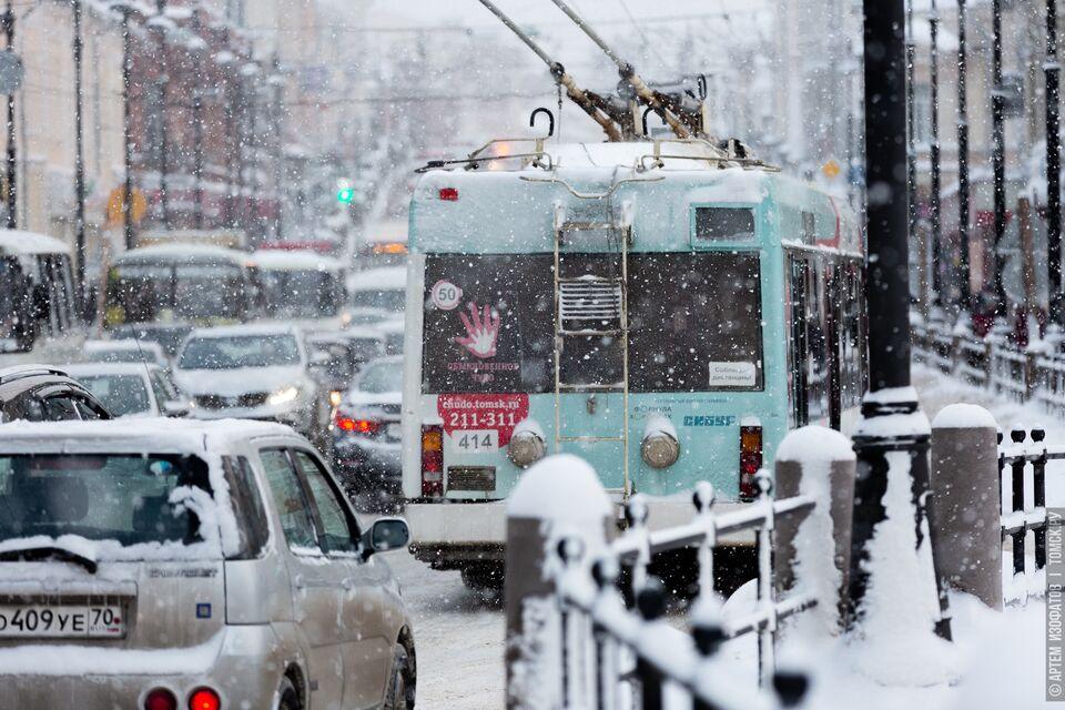 Троллейбус № 5 возобновил движение в Томске