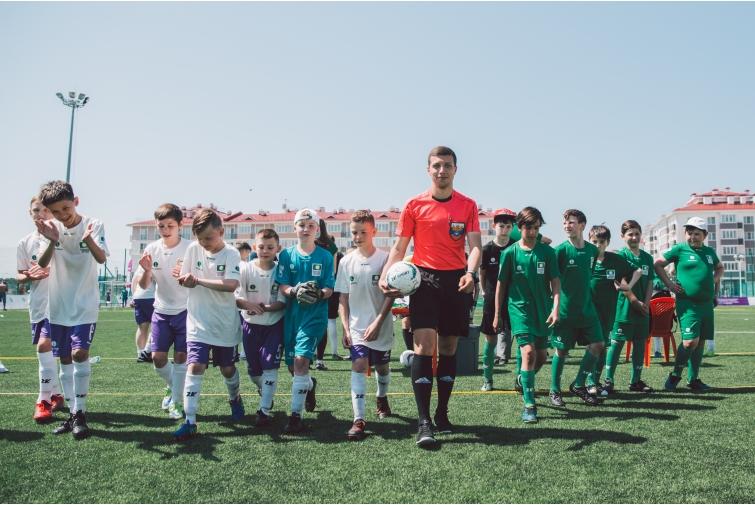 В Томске стартует традиционный турнир по футболу среди детей-сирот