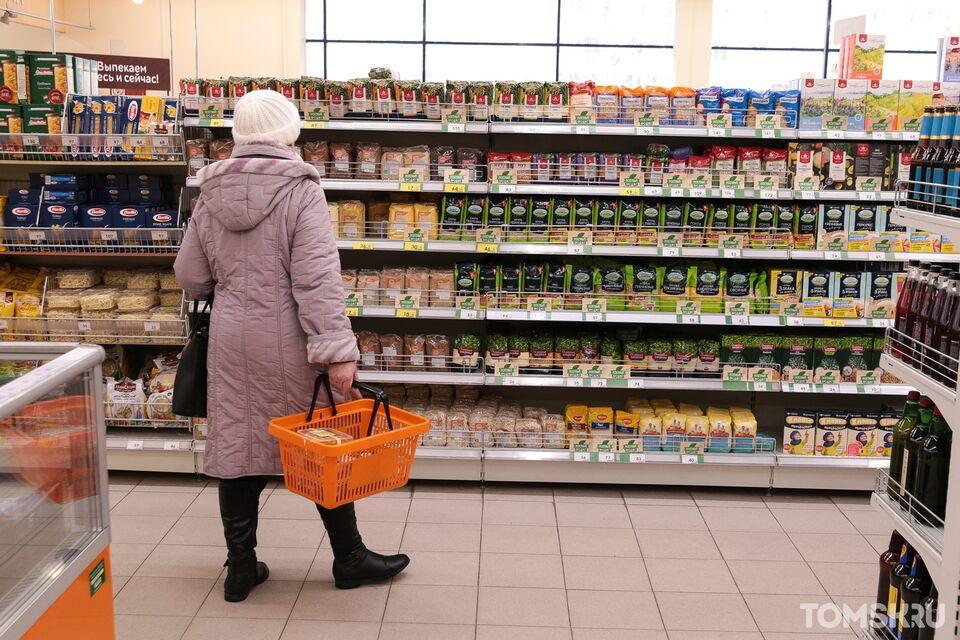 «Хороший выбор»: Большинство продуктов в местные магазины поступает с предприятий Томска и Сибири