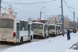 Мэрия: общественный транспорт в Томске будет ходить реже