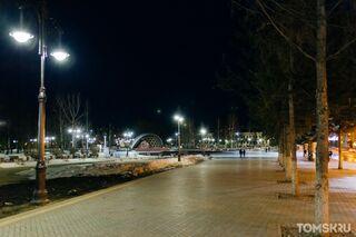 Вечерний Томск: город в самоизоляции